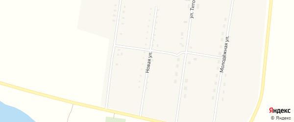 Новая улица на карте села Покровки с номерами домов
