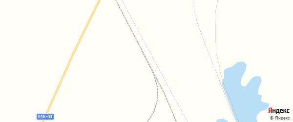 Карта станции Айнака города Славгорода в Алтайском крае с улицами и номерами домов