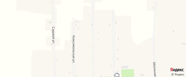 Новая улица на карте Новопесчаного села с номерами домов