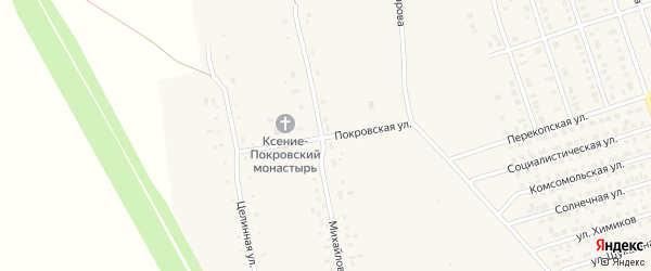 Покровская улица на карте Ярового с номерами домов