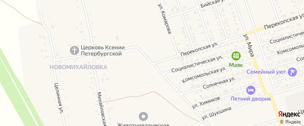 Улица Комарова на карте Ярового с номерами домов