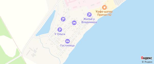 Набережная улица на карте Ярового с номерами домов