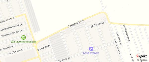 Улица Чапаева на карте Ярового с номерами домов