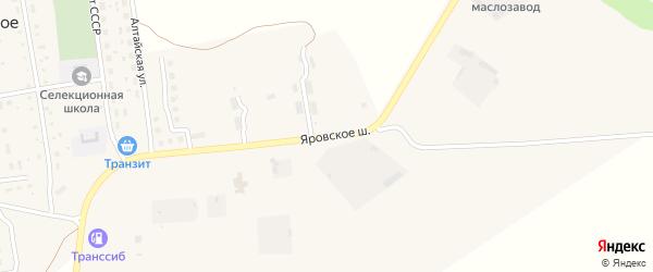 Яровское шоссе на карте Славгорода с номерами домов