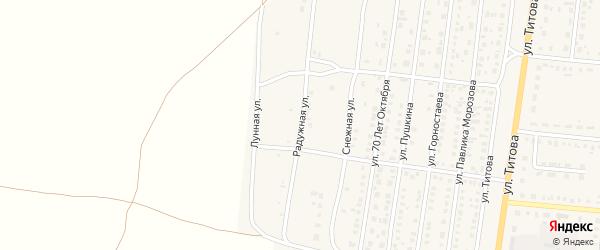 Радужная улица на карте Славгорода с номерами домов
