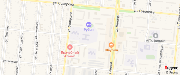 3-й микрорайон на карте Славгорода с номерами домов