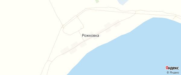 Карта села Рожковки в Алтайском крае с улицами и номерами домов