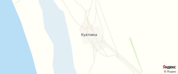 Карта села Куатовки города Славгорода в Алтайском крае с улицами и номерами домов