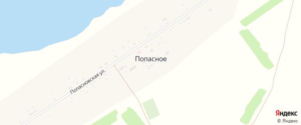 Попасновская улица на карте Попасного села с номерами домов