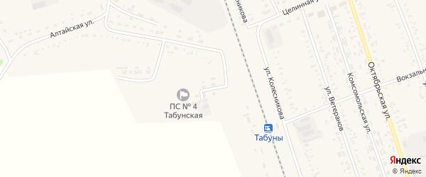 Улица Подстанция на карте села Табуны с номерами домов