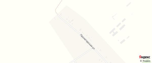 Школьный переулок на карте Забавного села с номерами домов