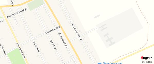 Молодежная улица на карте села Табуны с номерами домов