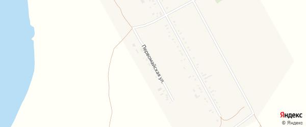 Первомайская улица на карте села Новопетровки с номерами домов