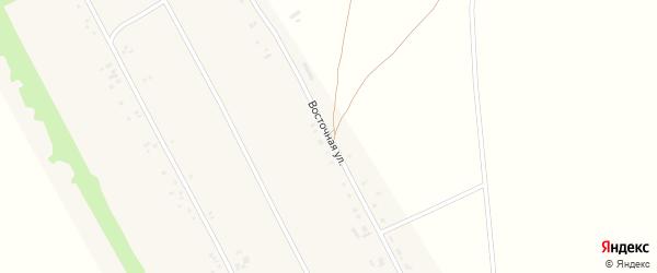 Восточная улица на карте села Новопетровки с номерами домов