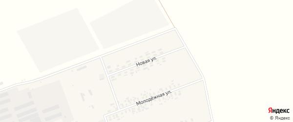Новая улица на карте села Шумановки с номерами домов