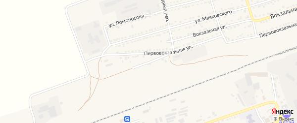 Контейнерная улица на карте села Кулунды с номерами домов