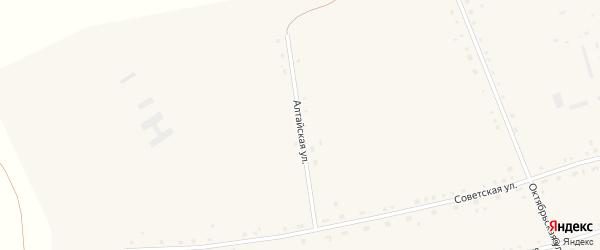 Алтайская улица на карте села Васильчуки с номерами домов