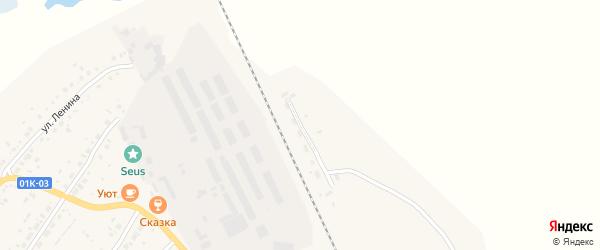 Привокзальная улица на карте села Ключи с номерами домов