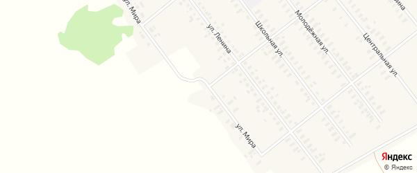 Улица Мира на карте Полевого села с номерами домов