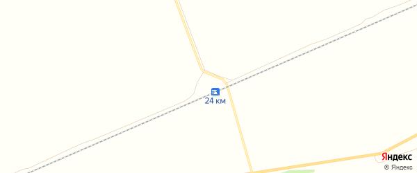 Карта станции Железнодорожной Казармы 24 км в Алтайском крае с улицами и номерами домов