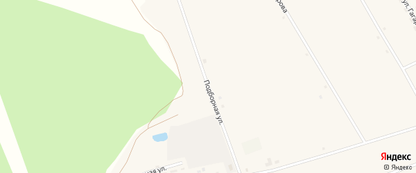 Подборная улица на карте села Северки с номерами домов