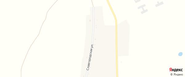 Славгородская улица на карте села Златополя с номерами домов