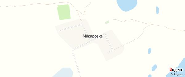 Карта села Макаровки в Алтайском крае с улицами и номерами домов