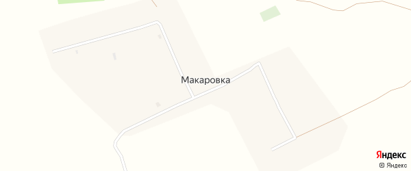 Улица Ленина на карте села Макаровки с номерами домов