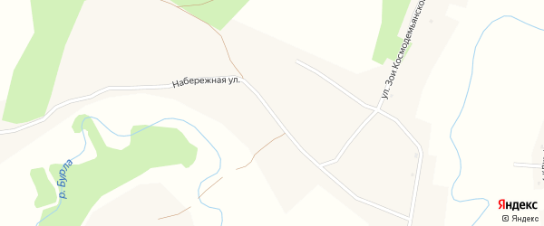 Набережная улица на карте села Утянки с номерами домов