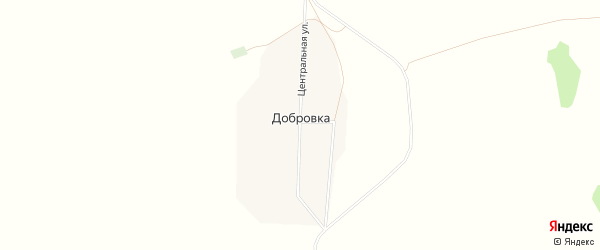 Карта села Добровки города Славгорода в Алтайском крае с улицами и номерами домов