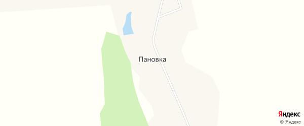 Пановская улица на карте села Пановки с номерами домов