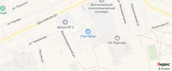 Автомобильная улица на карте Михайловского села с номерами домов