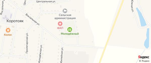 Сиреневая улица на карте села Коротояка с номерами домов