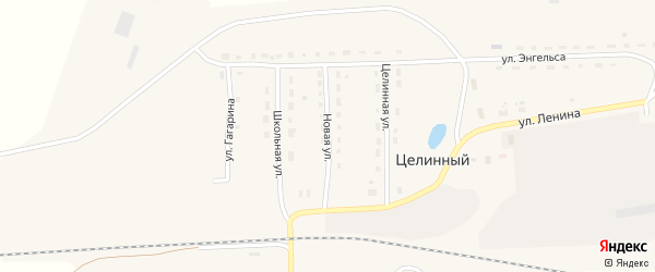 Новая улица на карте села Зятьковой Речки с номерами домов