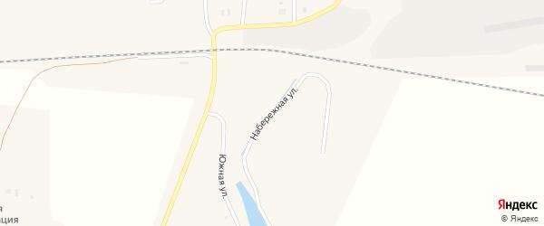 Набережная улица на карте Целинного поселка с номерами домов