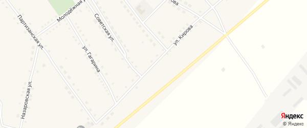 Улица Кирова на карте села Полуямки с номерами домов