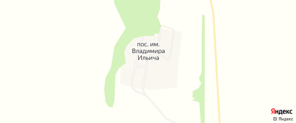 Карта поселка им Владимира Ильича в Алтайском крае с улицами и номерами домов
