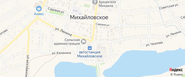 Октябрьский проспект на карте Михайловского села с номерами домов