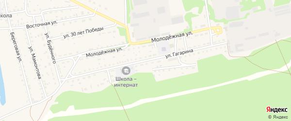 Улица Гагарина на карте Михайловского села с номерами домов