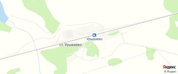 Карта станции Урываево в Алтайском крае с улицами и номерами домов