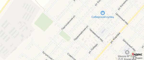 Улица Колядо на карте поселка Благовещенки с номерами домов