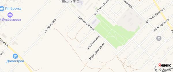 Улица Маяковского на карте поселка Благовещенки с номерами домов