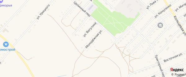 Молодёжная улица на карте поселка Благовещенки с номерами домов
