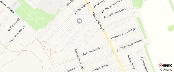 Социалистическая улица на карте поселка Благовещенки с номерами домов