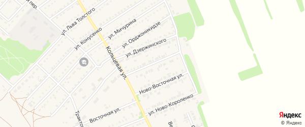 Ново-Социалистическая улица на карте поселка Благовещенки с номерами домов