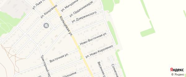 Ново-Восточная улица на карте поселка Благовещенки с номерами домов