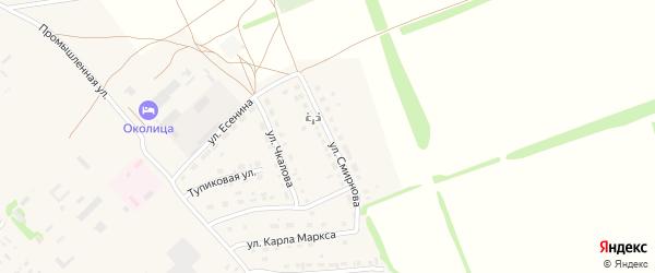 Улица Смирнова на карте поселка Благовещенки с номерами домов