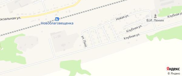 Алтайская улица на карте поселка Благовещенки с номерами домов