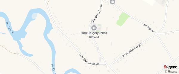 Новая улица на карте села Нижнего Кучука с номерами домов
