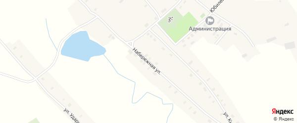 Набережная улица на карте села Зятьковой Речки с номерами домов